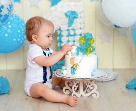 Fotos de 1 ano smash the cake menino (4)