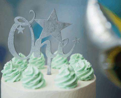 bolo para ensaio de 1 ano