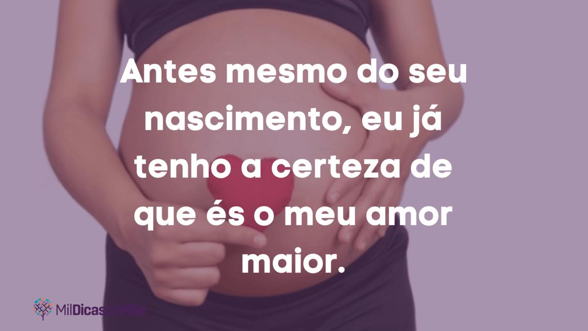 texto gravidez tumblr