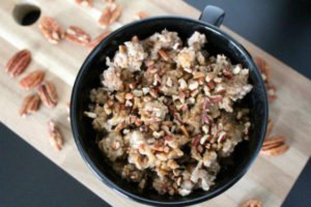 Crock Pot Pecan Pie Oatmeal