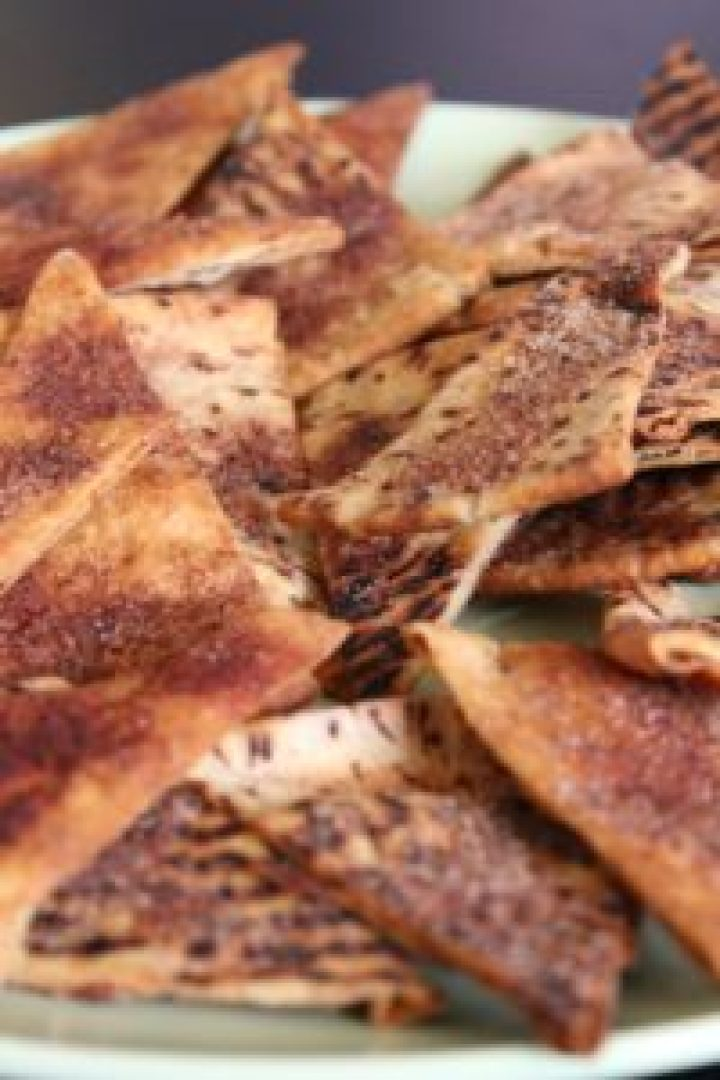 Cinamon Pita Chips