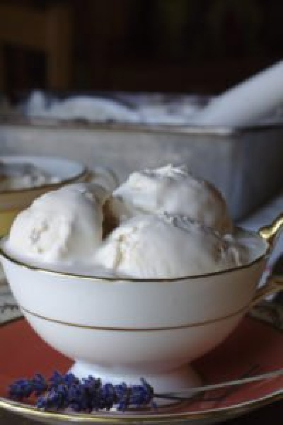 Lavender Lemon Earl Grey Ice Cream