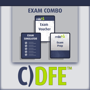 C)DFE Digital Forensics Examiner exam combo