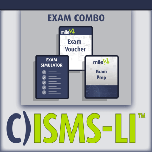C)ISMS-LI Information Security Management Systems Lead Implementer exam combo