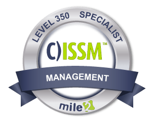 C)ISSM Information System Security Manager badge