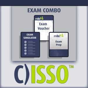 C)ISSO Information Systems Security Officer exam combo