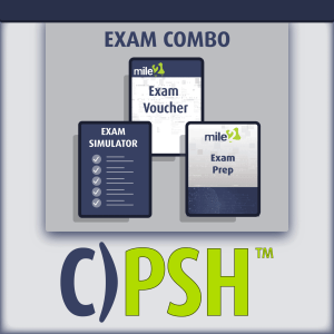 C)PSH Powershell Hacker exam combo