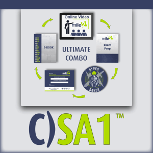 C)SA1 Certified Security Awareness 1 ultimate combo