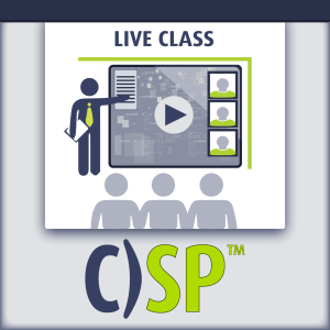 Certified Security Principles live class