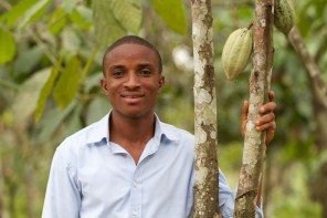 VSO cocoa farming in Kenya photo assignment