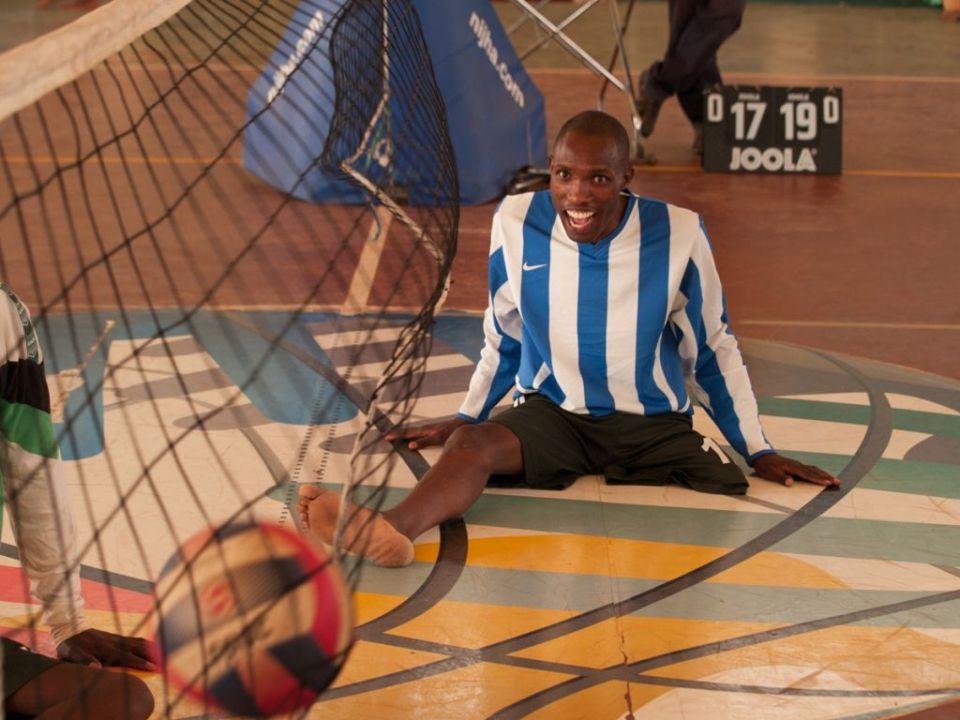 Sit volleyball in Rwanda
