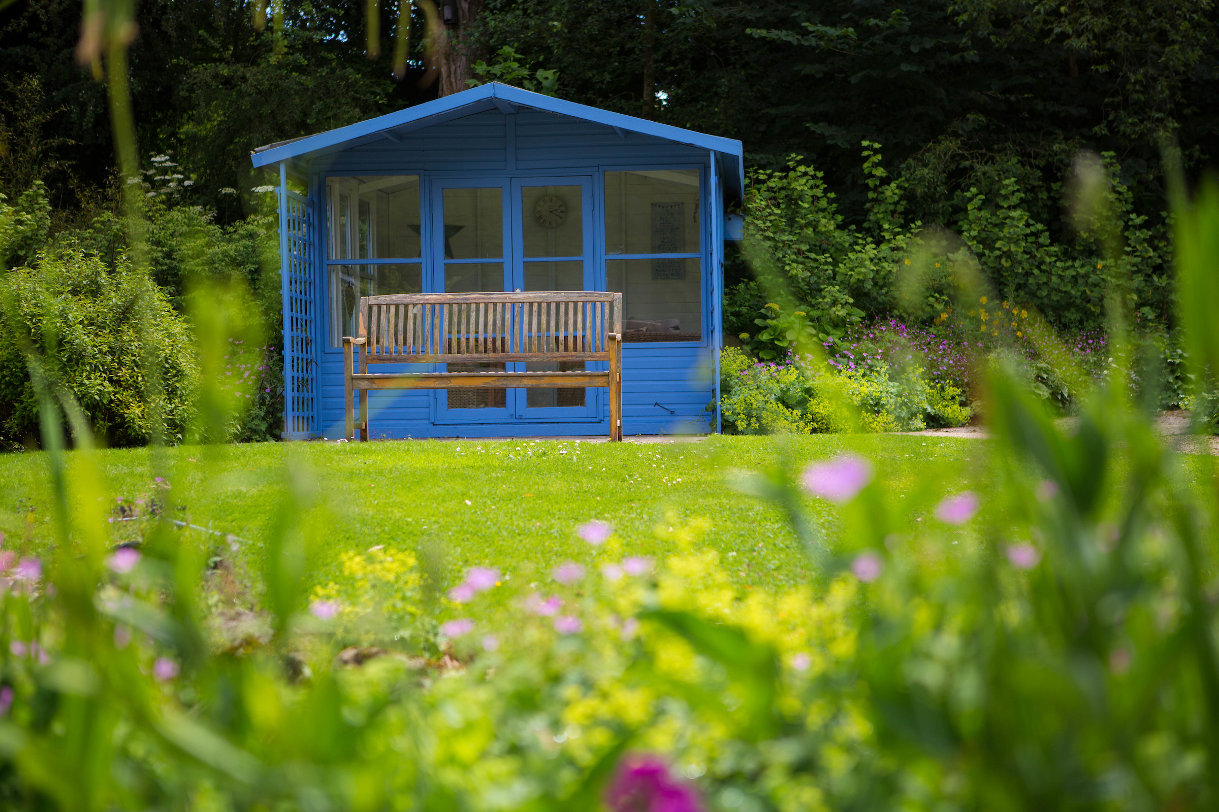 a garden shed for home working
