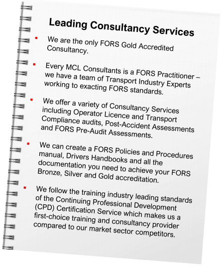 Consultancy and Auditing Services