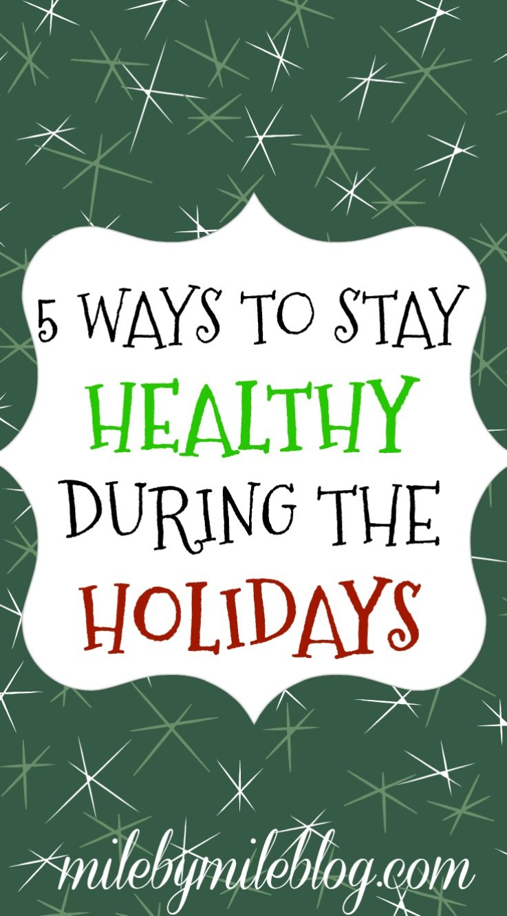 As the holidays approach it can be difficult to maintain a healthy lifestyle. Stay on track with these 5 tips.