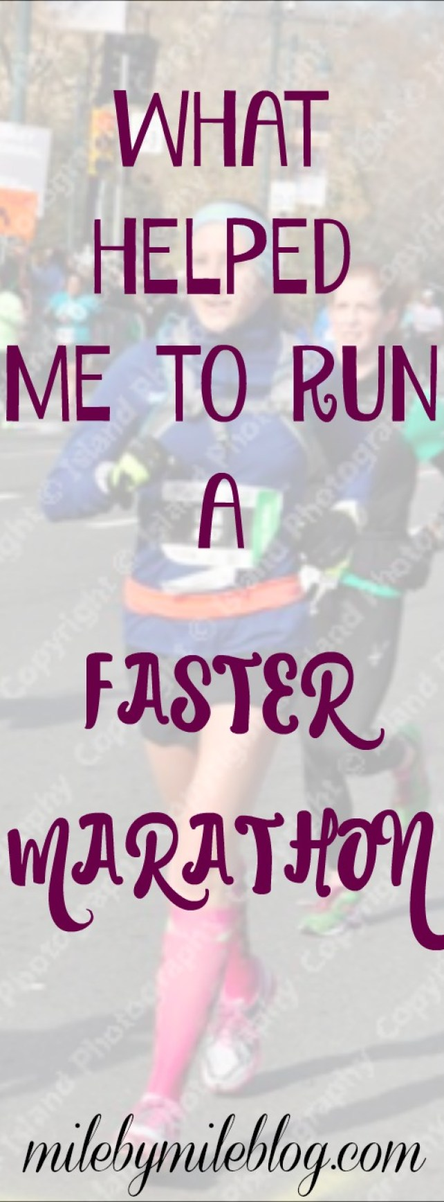 Tips for taking your training up a notch to run a faster marathon time #running #marathon #racing #training
