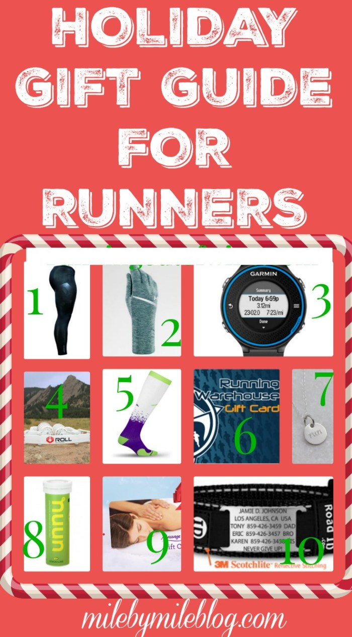 Check out this runner's gift guide to find the perfect gift for the runners in your life #running #holidays #gift