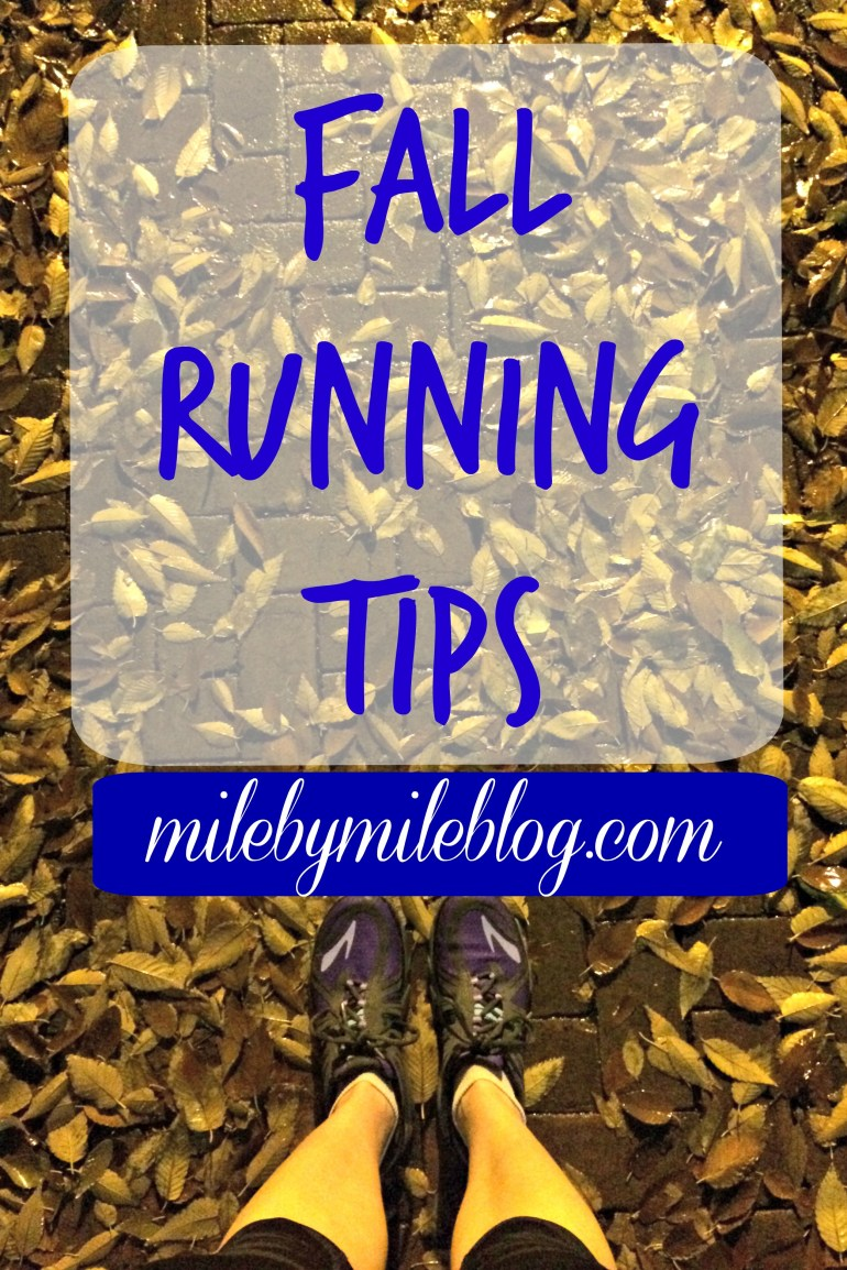 Fall Running Tips