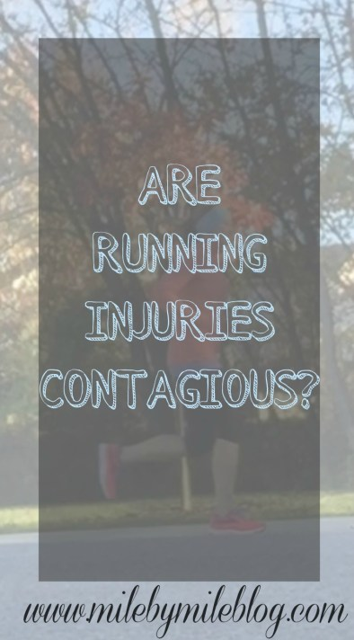 Are Running Injuries Contagious?