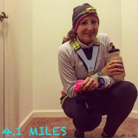 Tuesday 4 miles