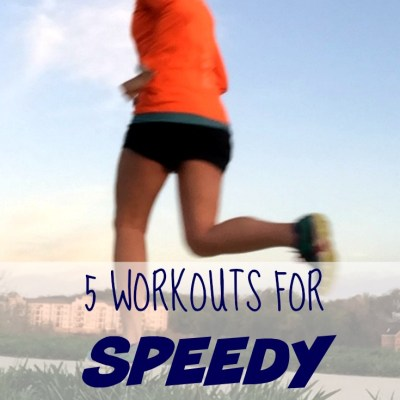 5 Workouts For Speedy Spring Running