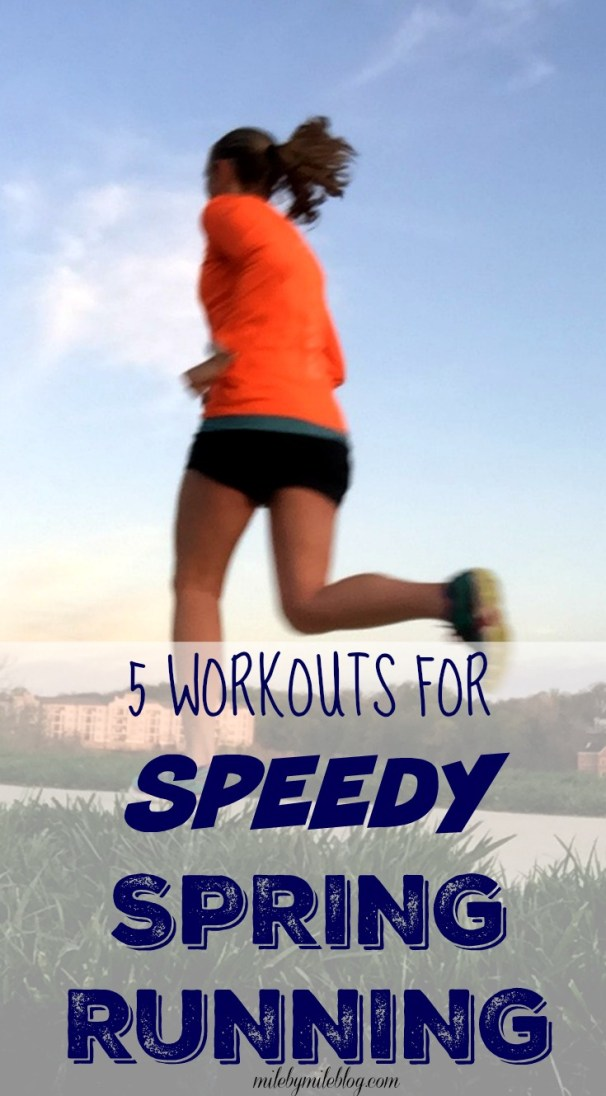 Looking to pick up the pace this spring? Try these workouts that will help you build strength and speed to prepare for a successful season of racing this spring and summer.