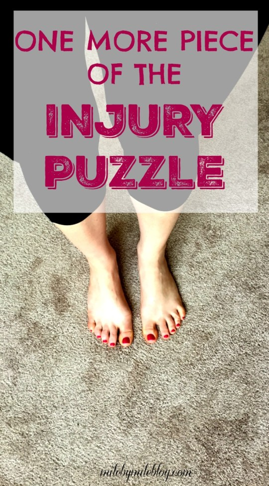 I keep learning more and more about what could be contributing to my posterior tibial tendonitis. After my last appointment with a podiatrist I learned about another factor that could be causing this injury. Click post to read more.