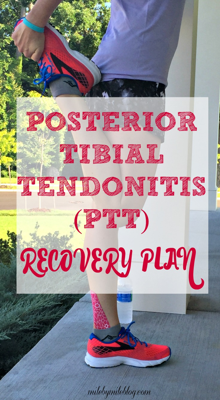 Trying to recover from posterior tibial tendonitis, or PTT? I've been  dealing