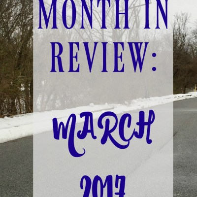 Month in Review: April 2017