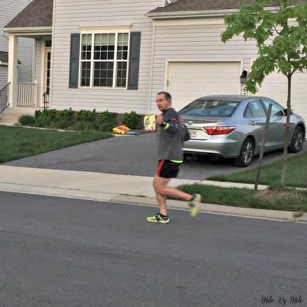rob training run