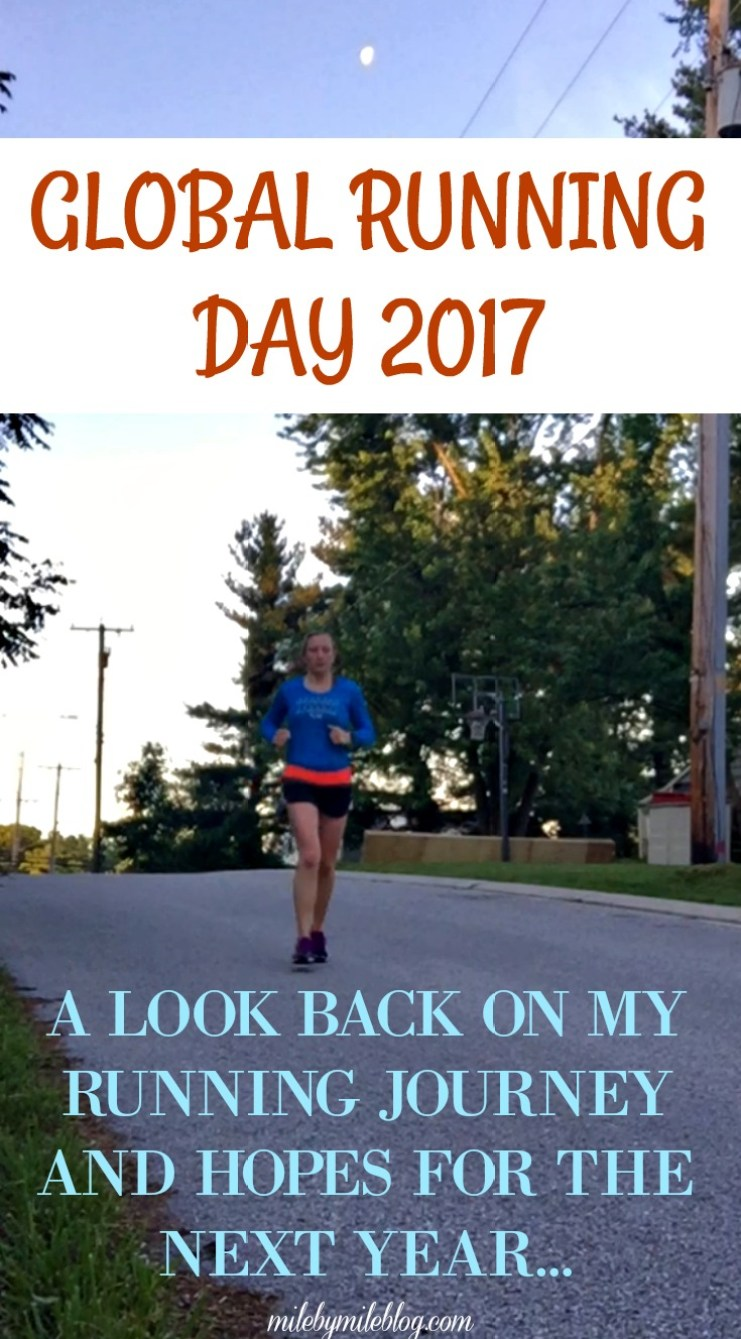 The first Wednesday and June is Global Running Day. This year I'm looking back on the past few years of running when things were going well, and sharing some of my hopes for the next year.