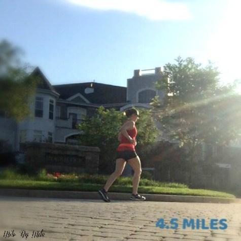 saturday 4 miles
