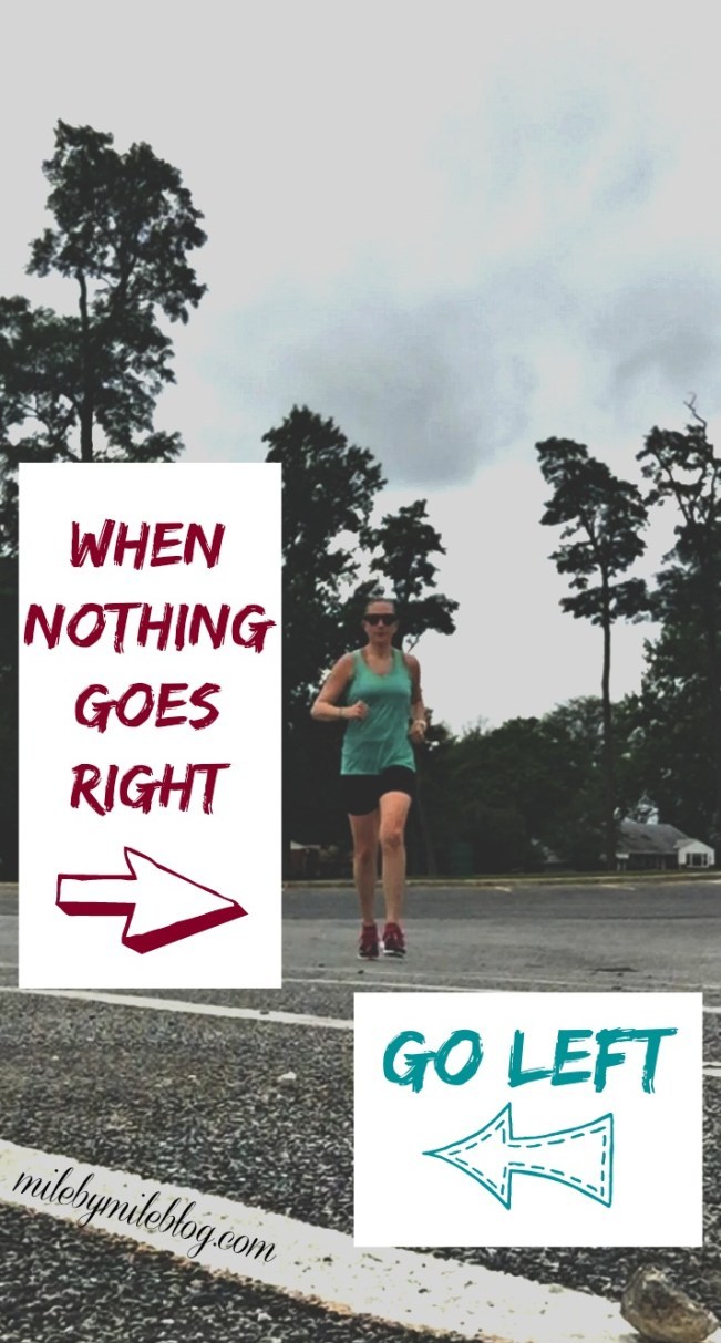 You know that feeling when nothing seems to be going right? That seems to be me and running lately. Click post for more about my workouts last week and where I stand with blisters and injuries.