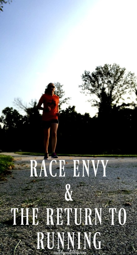 This was an exciting week as I began my return to running. However, I also experienced some race envy when I went to a local 10k and did not race. Click post to read about my workouts, return to running, and being at the race scene.