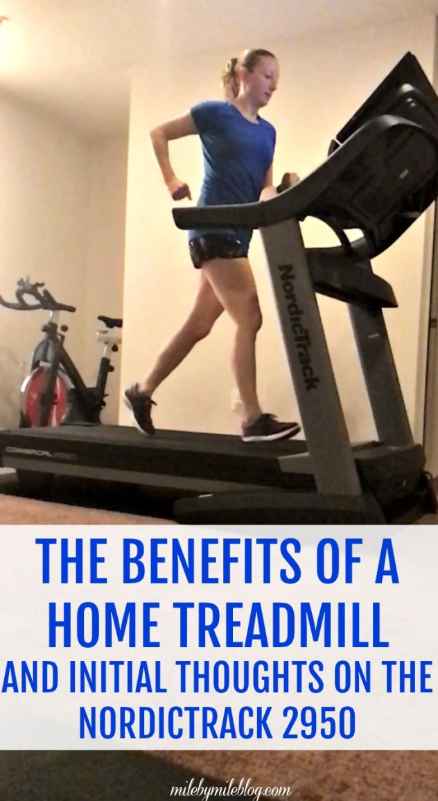 The benefits of a home treadmill and initial thoughts on