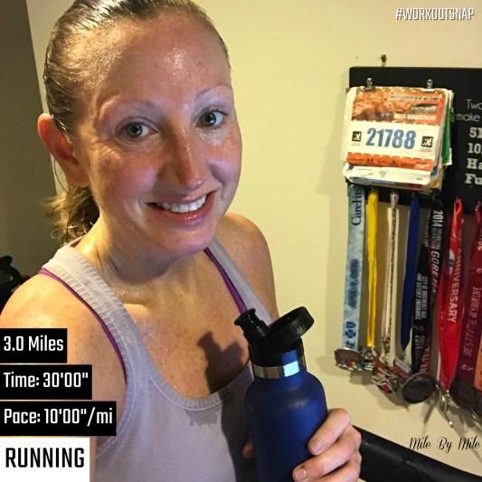 saturday treadmill run