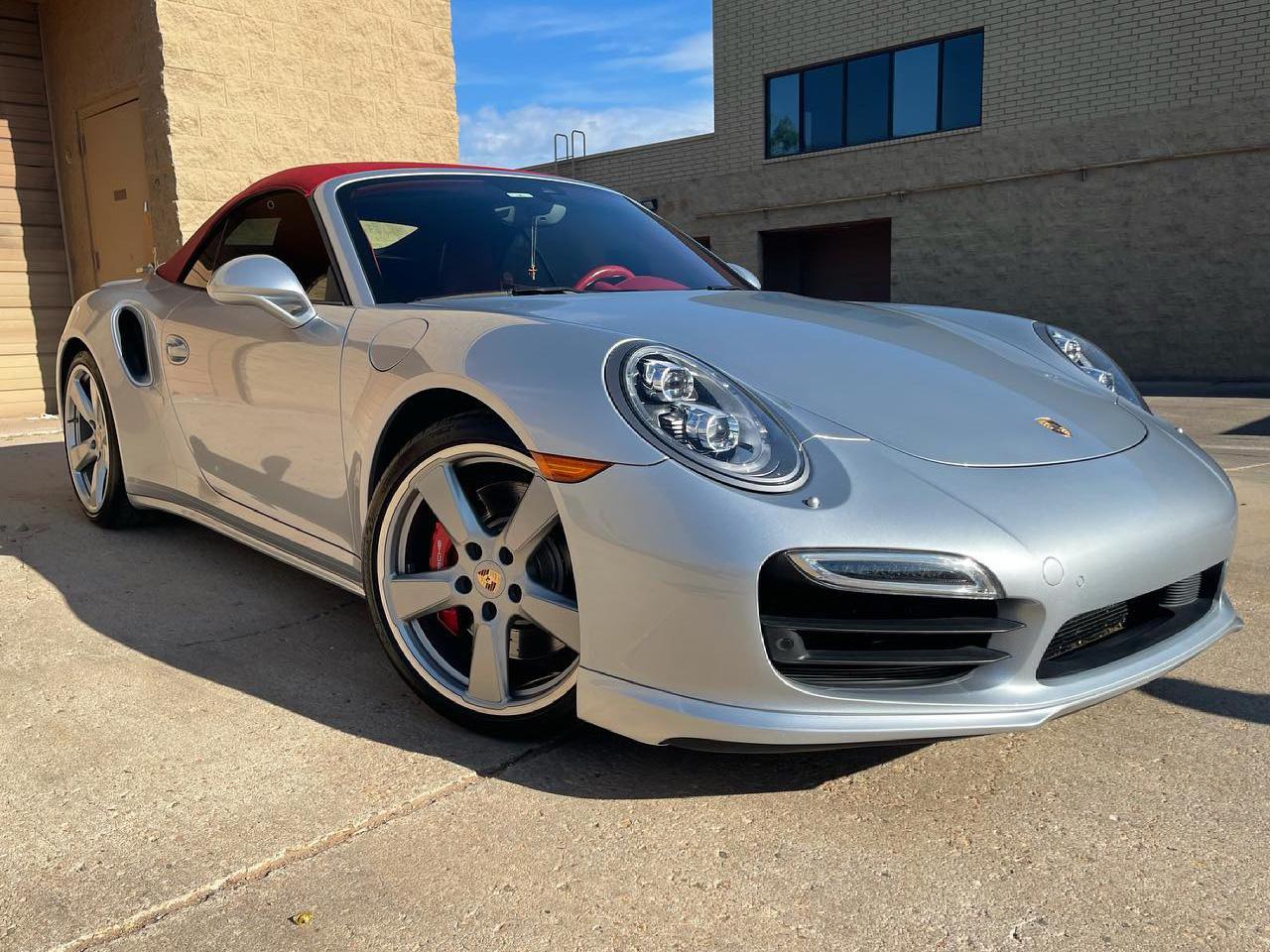 Porsche 911 Turbo ceramic coating