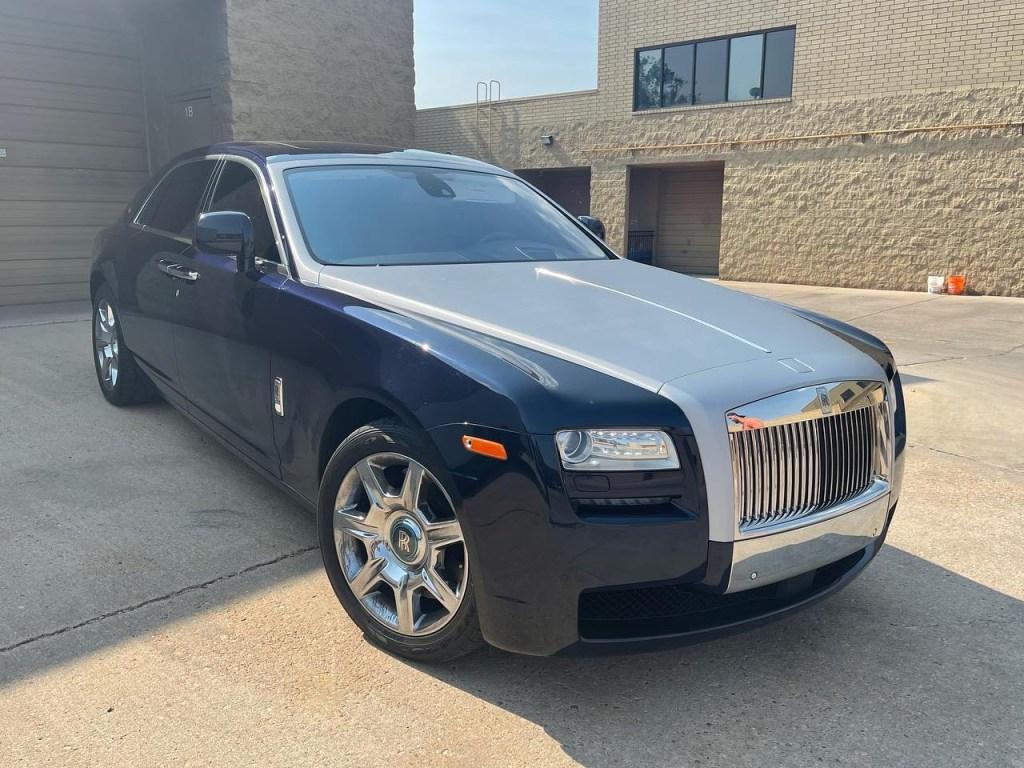 Rolls Royce Ghost front wrap