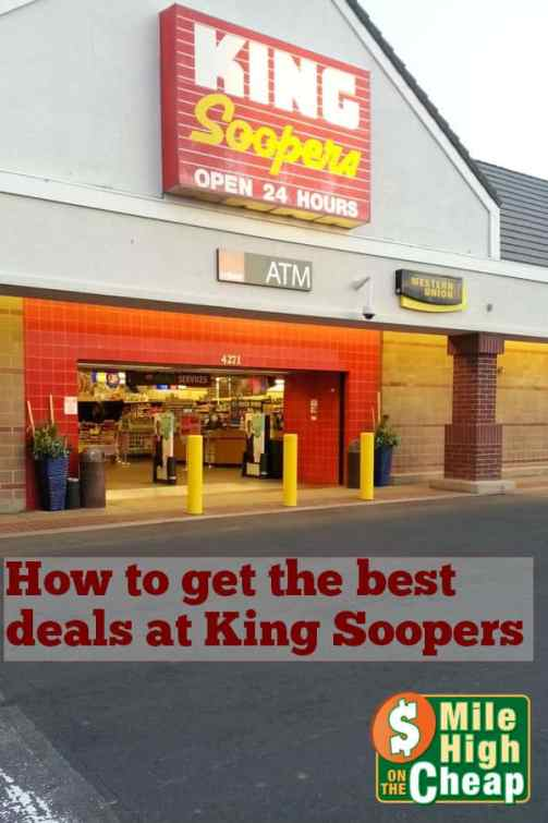 find the best deals shopping King Soopers