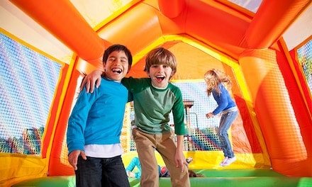 All-Day Pass for One or Two Children at Bounce City (Up to 27% Off)