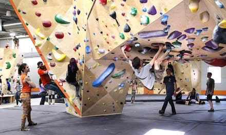 One-Day Climbing Pass with Shoe Rental for One, Two, or Four at Longmont Climbing Collective (Up to 37% Off)