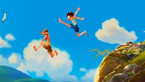 Luca Pixar gabbiani