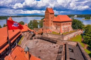 trakai e il castello