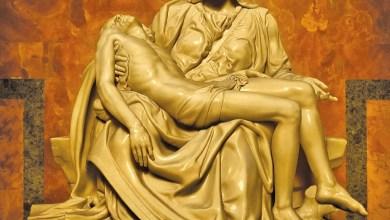 Pietà de Michelangelo na Basílica de S. Pedro