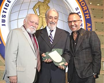 Brito Fialho com Jaime Nascimento e José M. Eustáquio