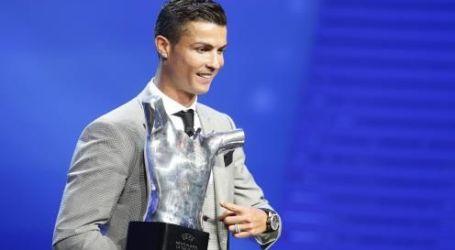 Cristiano Ronaldo named UEFA player of the year