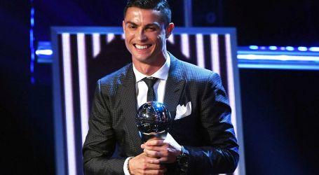 Cristiano Ronaldo melhor jogador do mundo pela quinta vez