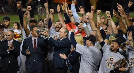 Houston Astros vencem World Series pela primeira vez