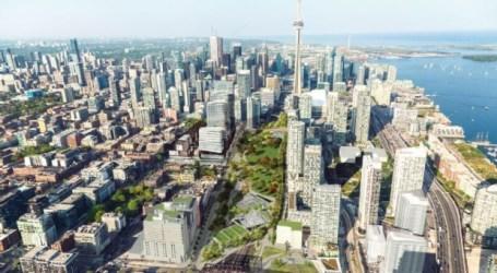 Rail Deck Park de Toronto deverá agora custar 1,6 mil milhões de dólares