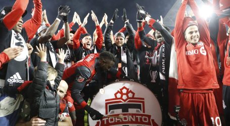 """Toronto declara o 11 de dezembro como o """"Dia dos Vermelhos"""" para homenagear a conquista da MLS Cup pelo TFC"""