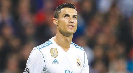 Cristiano Ronaldo deixa mensagem de ânimo aos adeptos do Real Madrid